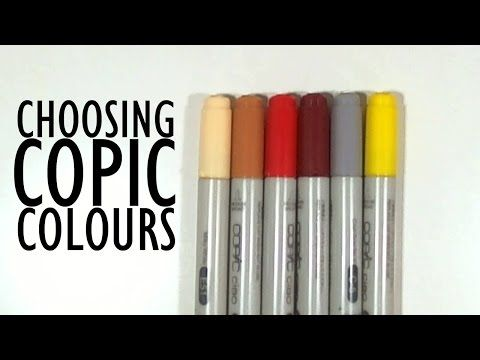 TUTORIAL - Choosing Copic Colours - YouTube