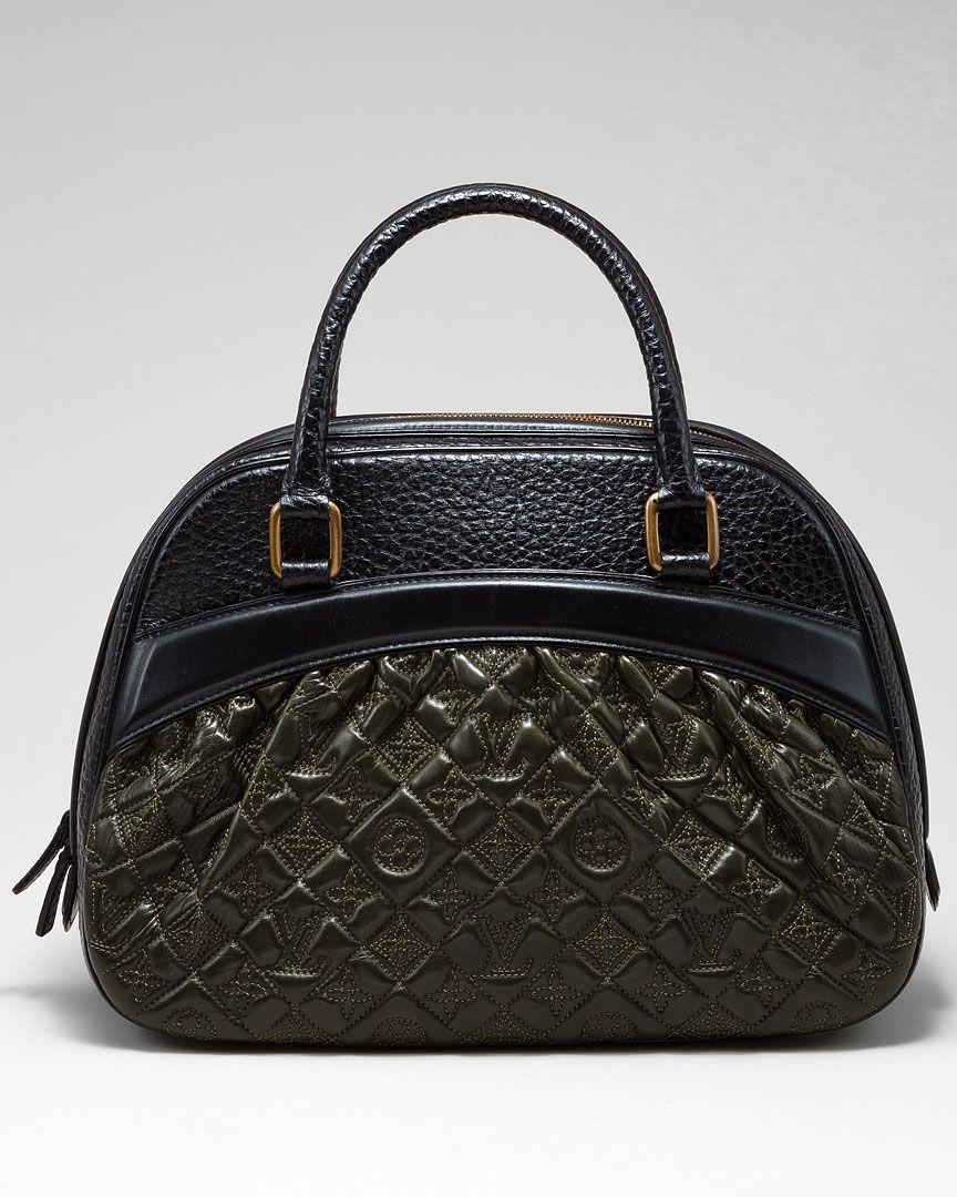 defe15338d37 Louis Vuitton Mizi Vienna Leather Satchel