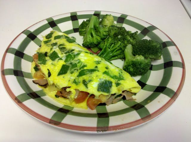 Quick and Easy Spinach Omelette Recipe