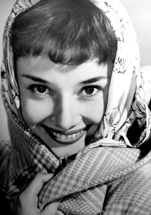 Image result for audrey hepburn wearing hermes scarf