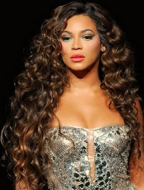 Very long curly weave hairstyles ok im getting a sew in human hair beyonce knowless hairstyle super exquisite long curly brown hand tied full lace wig about 24 inches can be bought from online store with promo pmusecretfo Gallery
