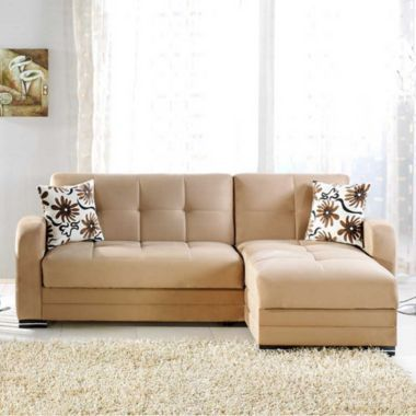 Kubo Sectional Sofa Bed Found At Jcpenney