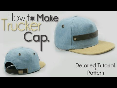 24c5c4ef817 How to make a Snapback Baseball Hat