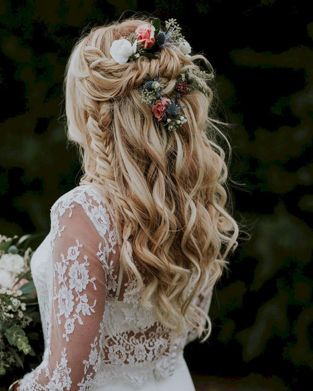 Boho Bridal Hairstyles For Carefree Bride: 20 Marvelous Boho Wedding Hairstyle Ideas You Must To See