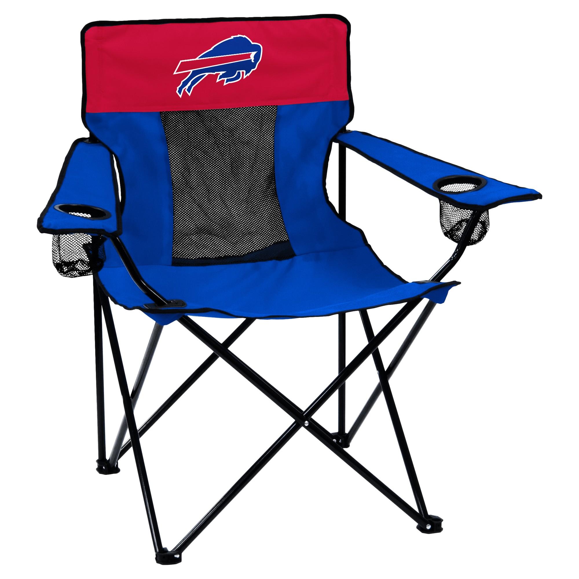 Nfl Buffalo Bills Elite Portable Quad Chair Fold Up