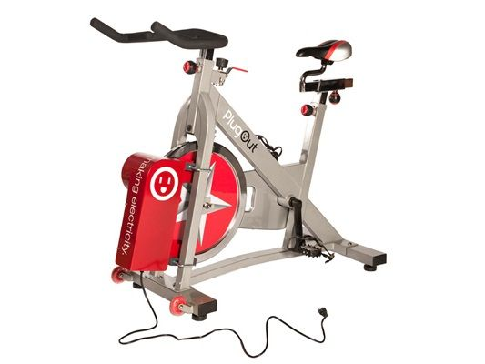 A Power Generating Exercise Bike That Returns Power Right To The Wall Really Shut Up And Take My Money High Tech Gadgets Tech Christmas Gifts Green Tech