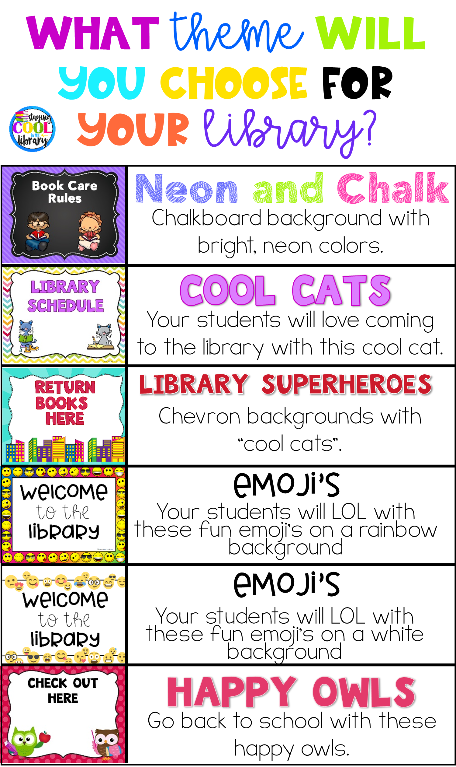 Decorate Your School Library With One Of These Bulletin