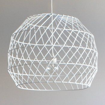 Array Pendant Light | AHAlife | Bend Seating's Array pendant lamp is strikingly geometric.