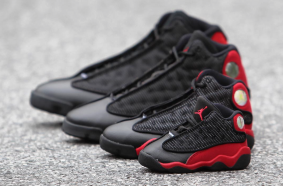 ee9f2838757 Get The Air Jordan 13 Bred 2017 For The Whole Family This Weekend ...