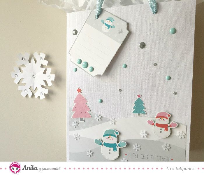 5 ideas para decorar una bolsa para regalo con motivos - Bolsas para decorar ...