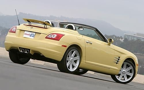2005 Chrysler Crossfire Limited 2dr Roadster Gatsby Yellow 3