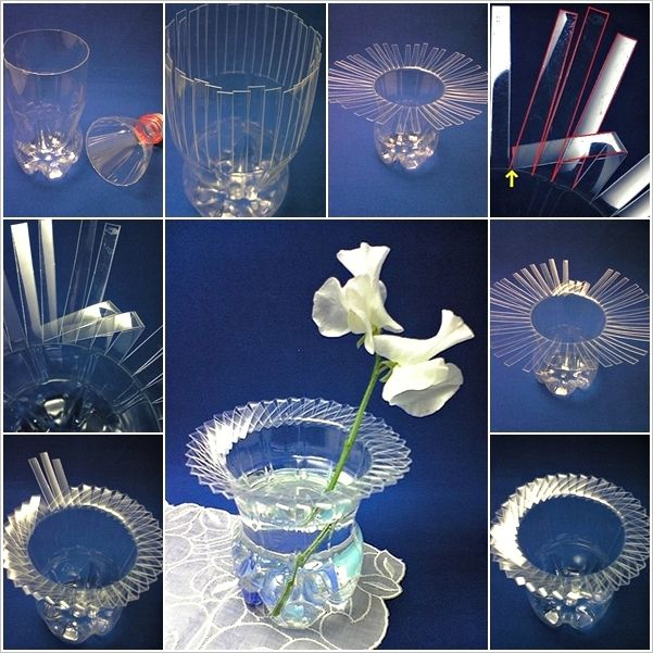 How To Make A Beautiful Vase From A Plastic Bottle Best Makeup