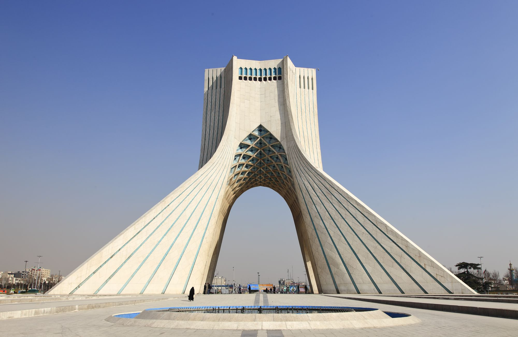 Completed in 1971 in Tehran, Iran. Commissioned to celebrate the 2500th anniversary of the Persian Empire, the Azadi Tower has been a site of celebration, unrest, and revolution....