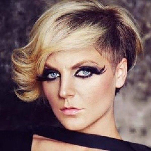 Undercut Hairstyles For Older Women Hair In Piration Color Prom