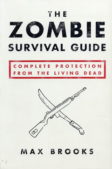 Reading Teen: Book Review: The Zombie Survival Guide by Max Brooks