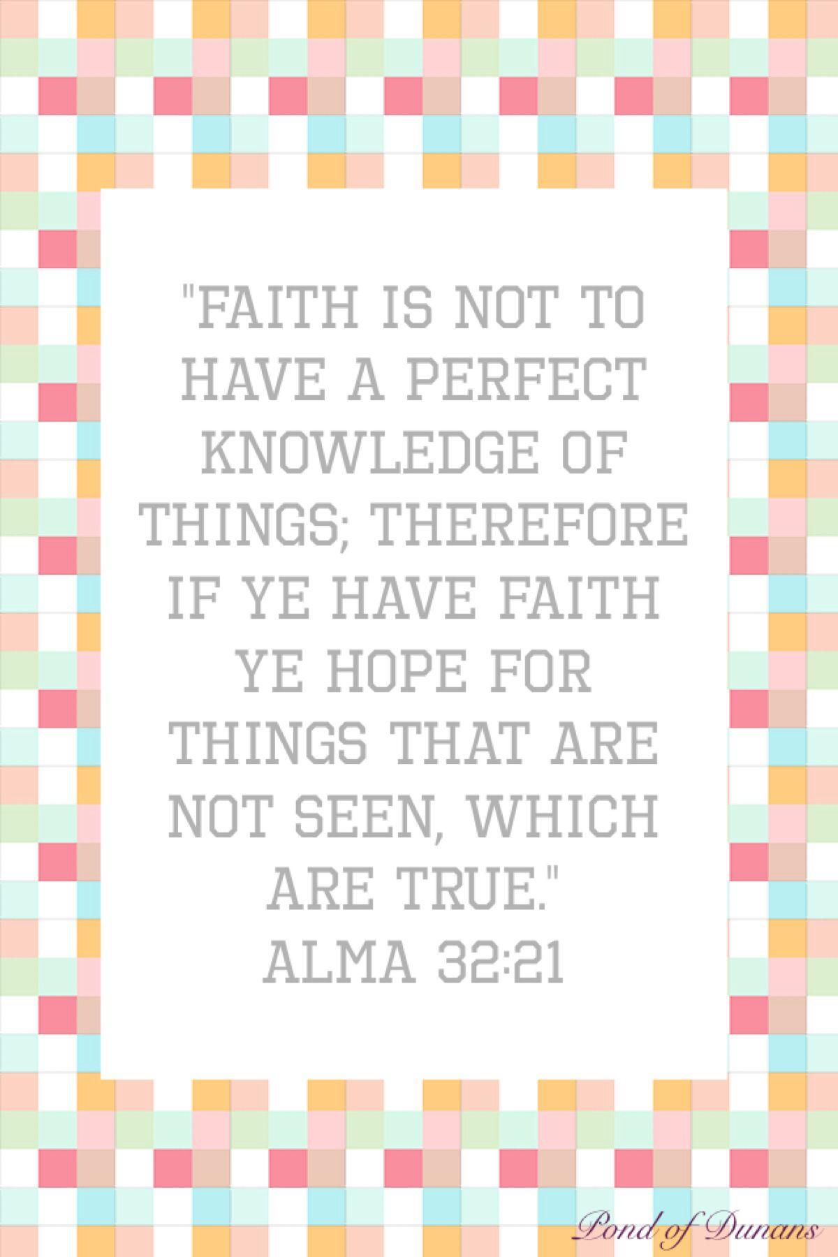 Alma 32:21