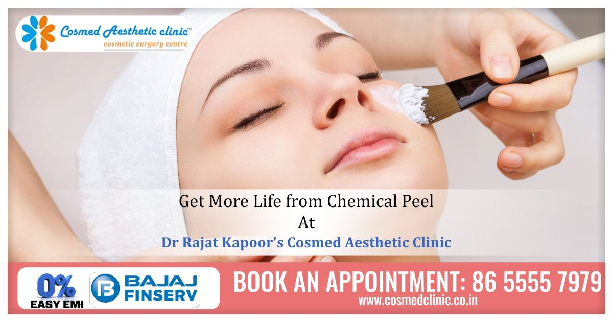 Prolong Your Skin's life with ChemicalPeels At Dr Rajat