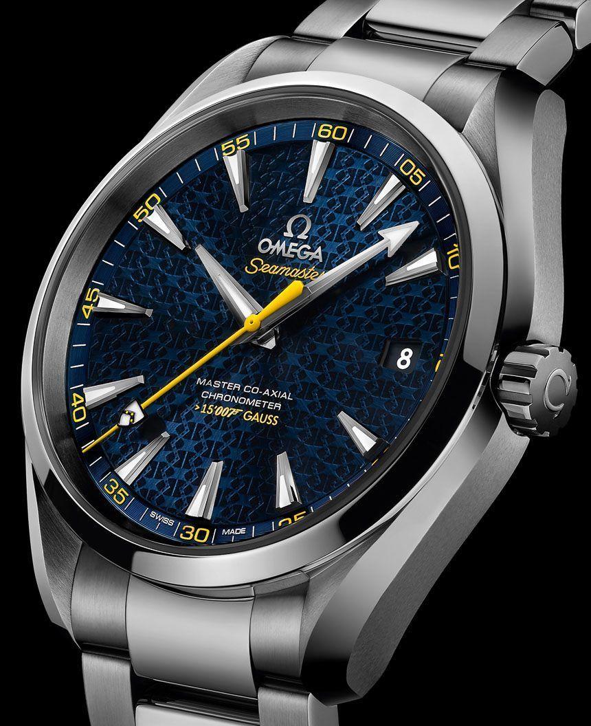 c5bf307640a James Bond 007 Spectre Movie Gets First Watch  Omega Seamaster Aqua Terra    15