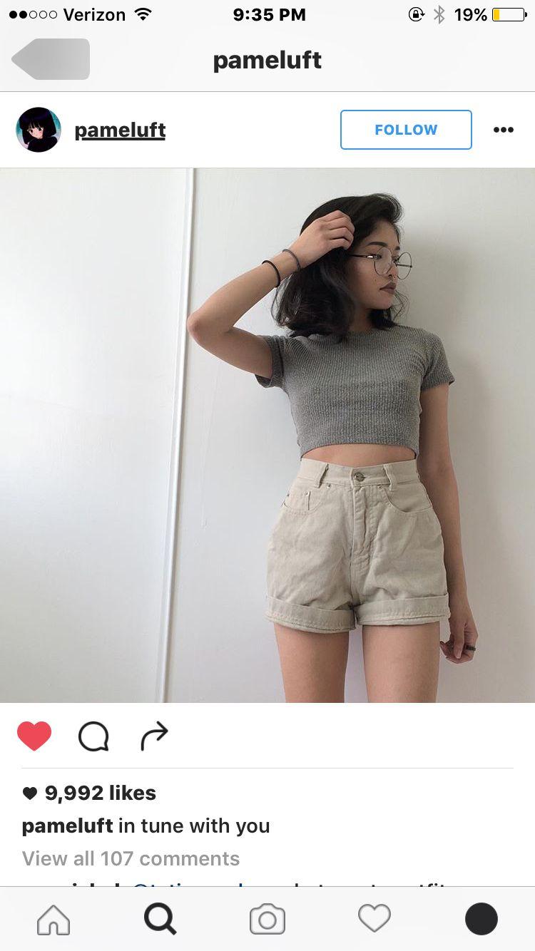 Pin by Ayraira on Outfits | Fashion, Crop top and shorts