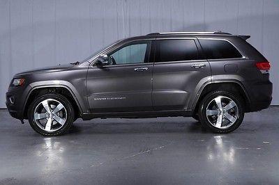 2014 Jeep Grand Cherokee Overland Sport Utility 4 Door Overland