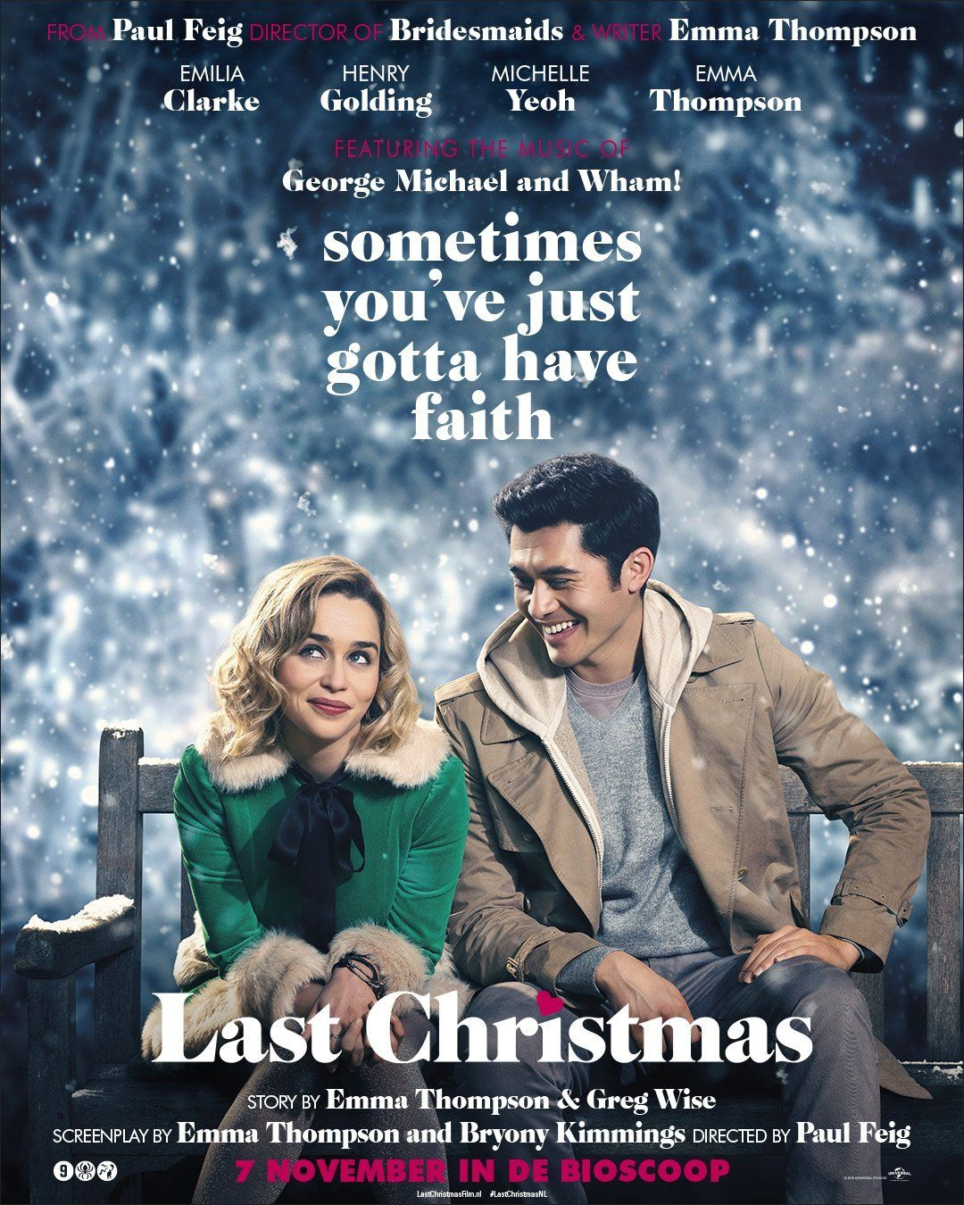 Last Christmas Movie Source Some Last Christmas Posters And Release Dates Last Christmas Movie Streaming Movies Free Movies Online