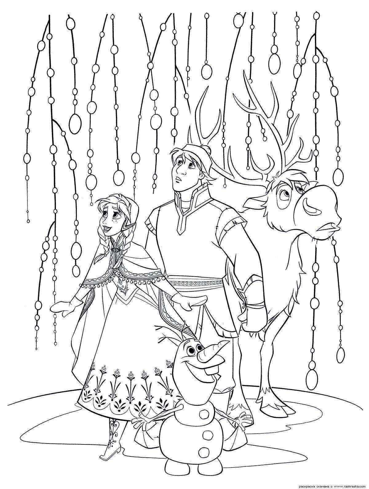 Eiskönigin Party Fieber Ausmalbilder : Frozen Coloring Page Coloring Pinterest