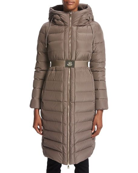 moncler black down imin coat