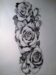 Rose Tattoo Sleeve Women Roses Tattoo Men Rose Arm Tattoo Men