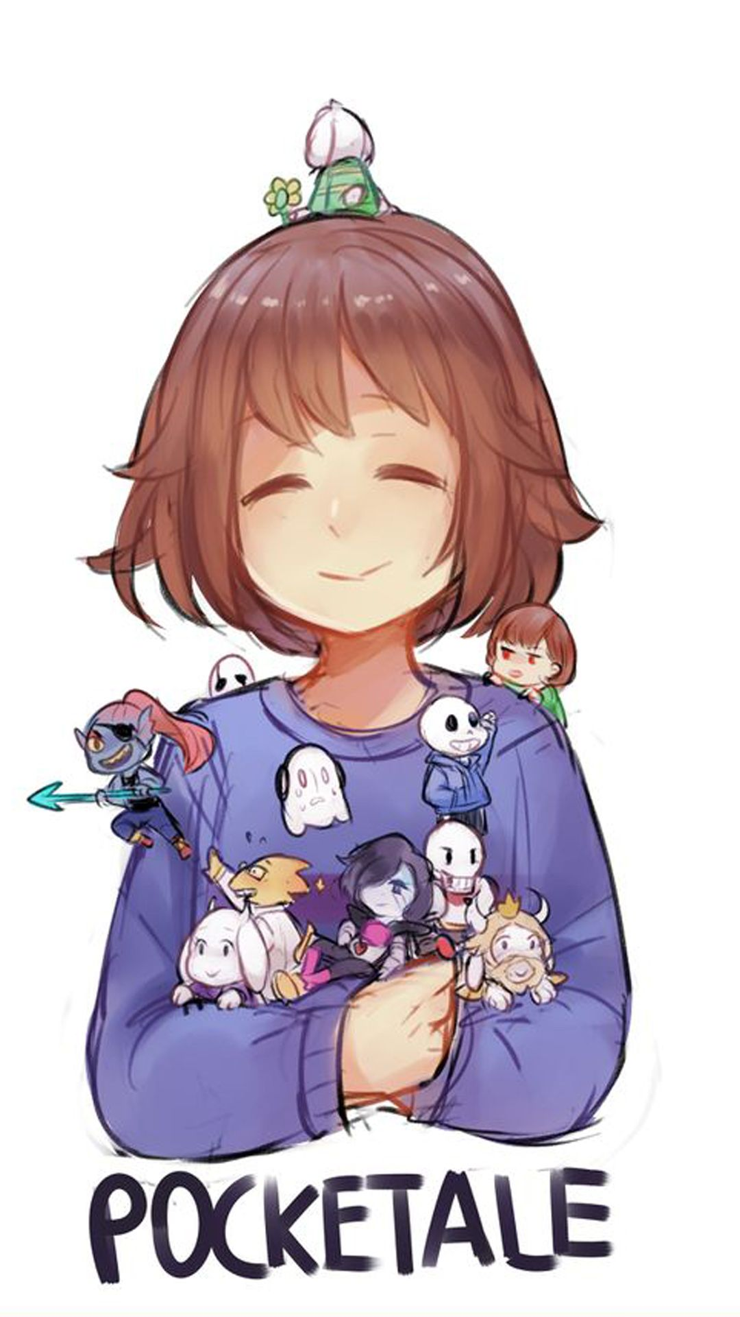 Undertale iphone 5s wallpaper