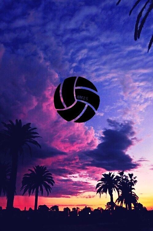 Pin By Autumn On Phone Wallpaper Volleyball Wallpaper Volleyball Backgrounds Sport Volleyball