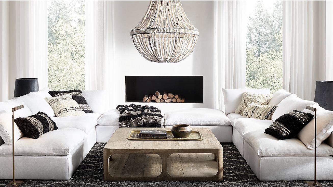 Pin by Phatsorn W on SOFA | Pinterest | Chic living room, Living ...