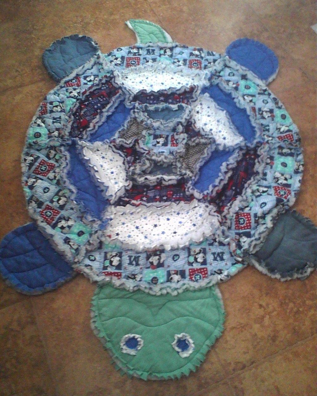 Simplicity 2493 -Turtle Rag Quilt | Crafting | Pinterest | Rag ... : turtle rag quilt - Adamdwight.com