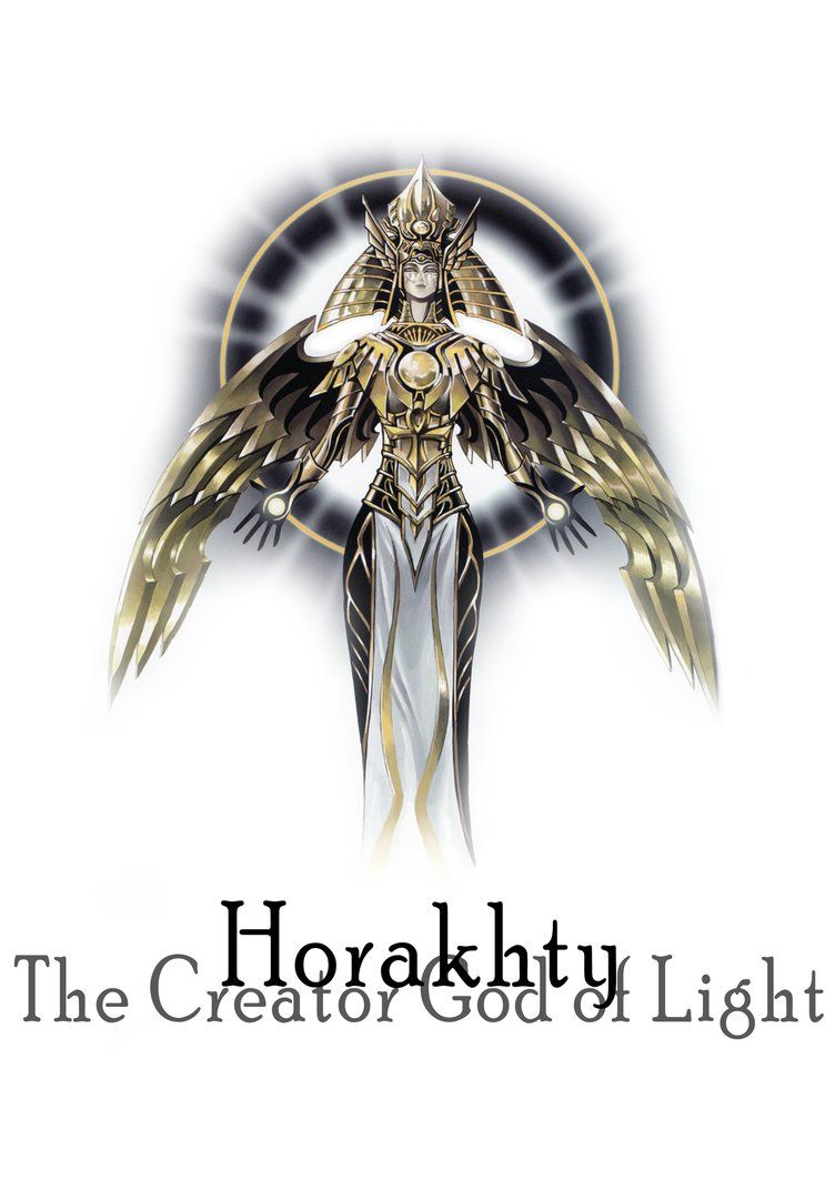 Horakhty the creator god of light by xcapo 2480x3508