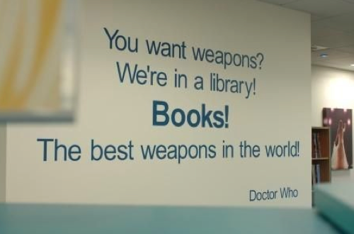 I want this quote on the wall when I have my own library. <---- Yes!!!