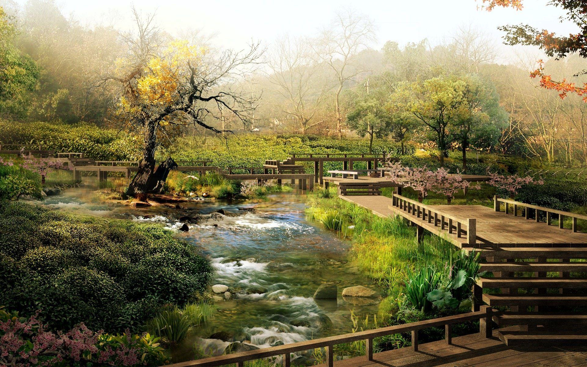 Home Nature Landscapes Desktop Wallpaper Nature Full Size Japanese Landscape Japan Landscape Chinese Landscape