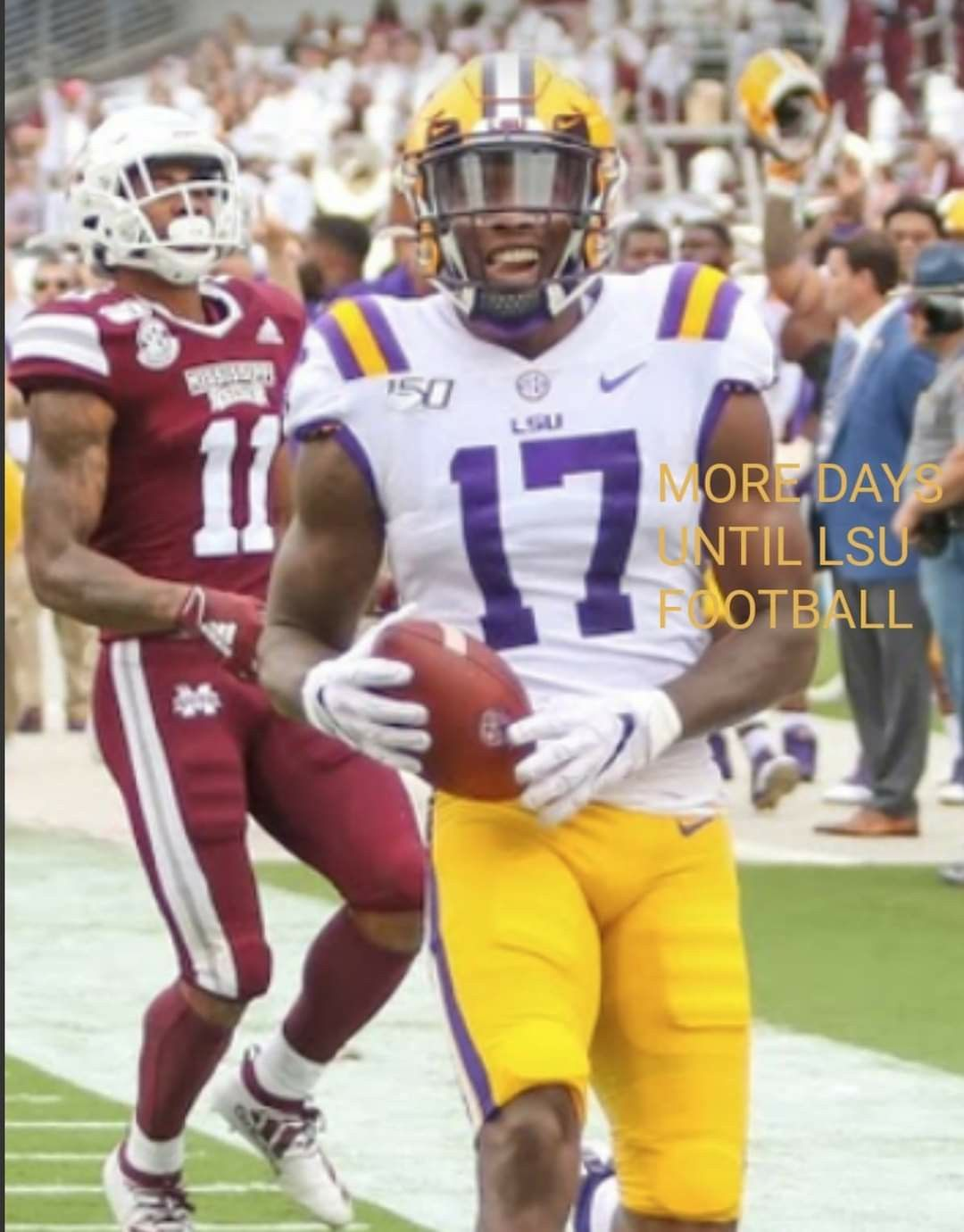 Pin by DRUNKEN CHEF on GEAUX TIGERS in 2020 Football