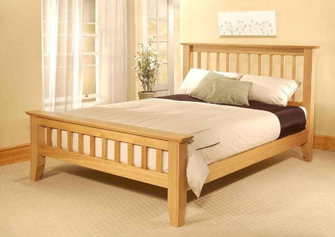 24 Top And Luxury Wooden Bed Frames Design For Chic Bedroom Ideas Oak Bed Frame Bed Frame Design Bed Design