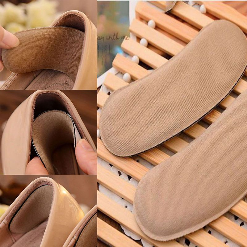1 Pair of Invisible Sponge Back Heel Inserts Insoles Shoe Grip Pads Cushions