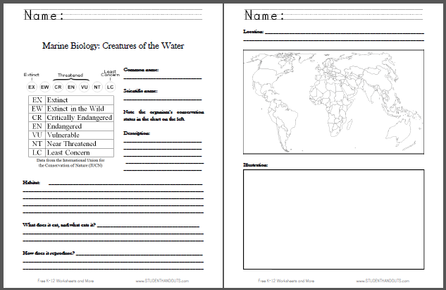 Printables High School Biology Worksheets Pdf 1000 images about science on pinterest ice age earth and marine biology