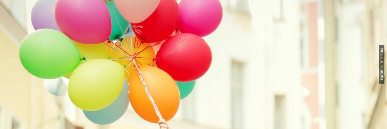 Balloons Twitter Header Cover - TwitrHeaders.com | College ...