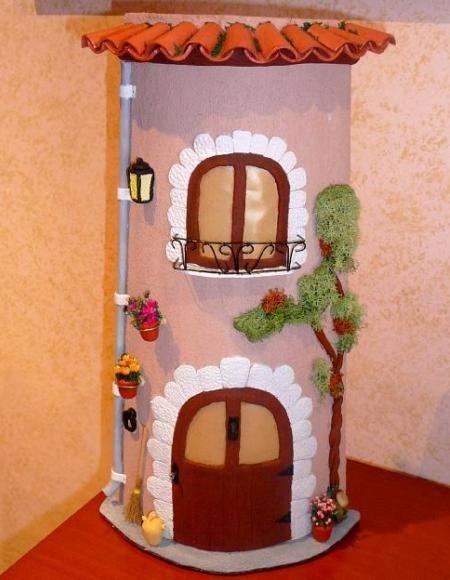 Telhas Enfeitadas Para Dar Charme Na Casa Artesanato Pinterest