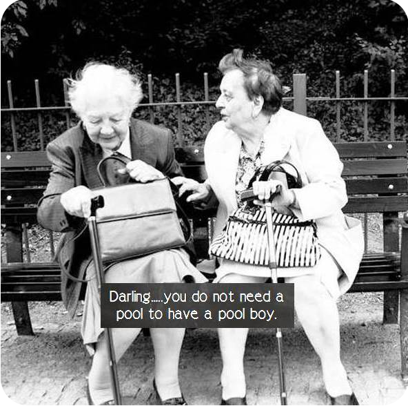 Ladies funny old You Know