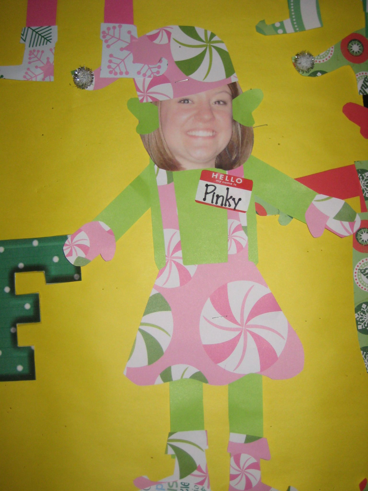 elves... door decorating contest ideas | Door decorating ...