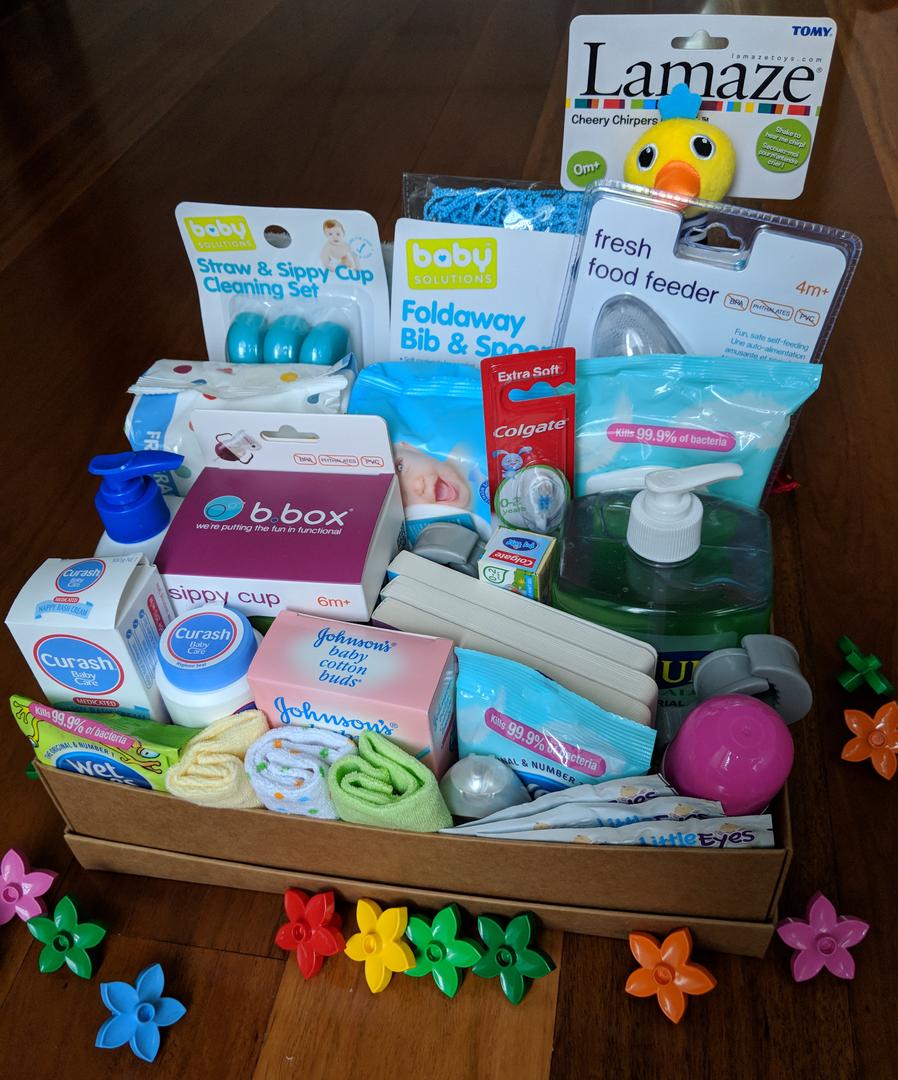 Gift Hamper Box New Baby