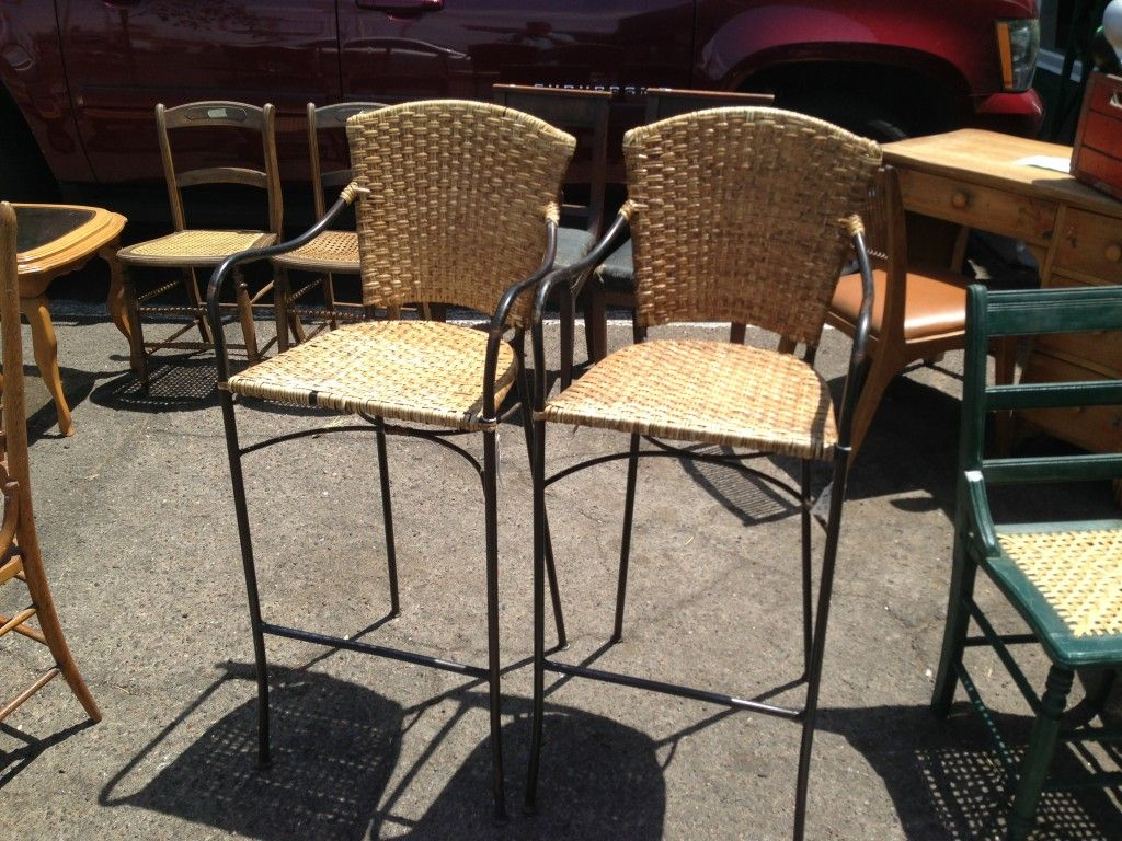 Interior Extraordinary Contemporary Wicker Bar Stools From For Traditional House