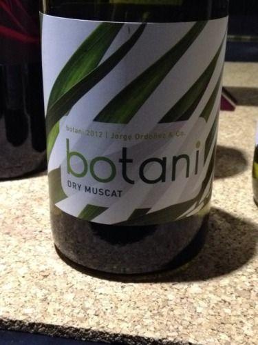 Jorge Ordonez Botani Dry Muscat 2012 Sensational Summer Wine; Light & Refreshing!