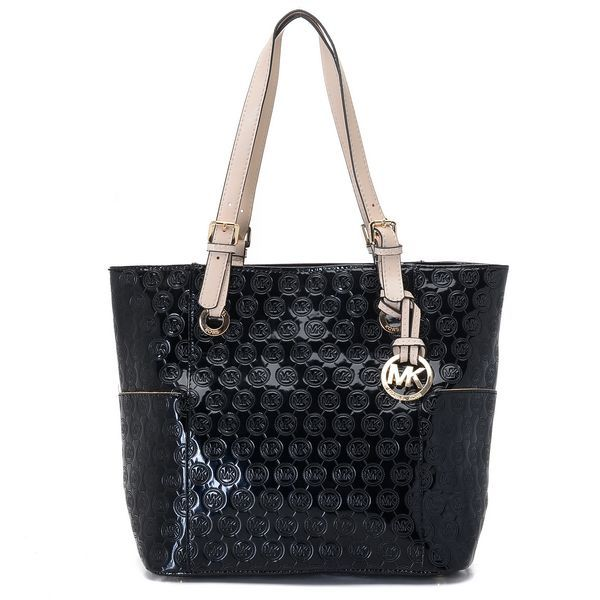 Cheap Michael Kors Large Black Grayson Should Bag