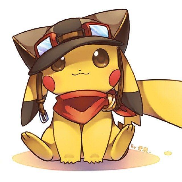 #Anime #Pokemon #Pikachu #Pika #Pikaka #Kawaii #Cute #Yellow #Chibi