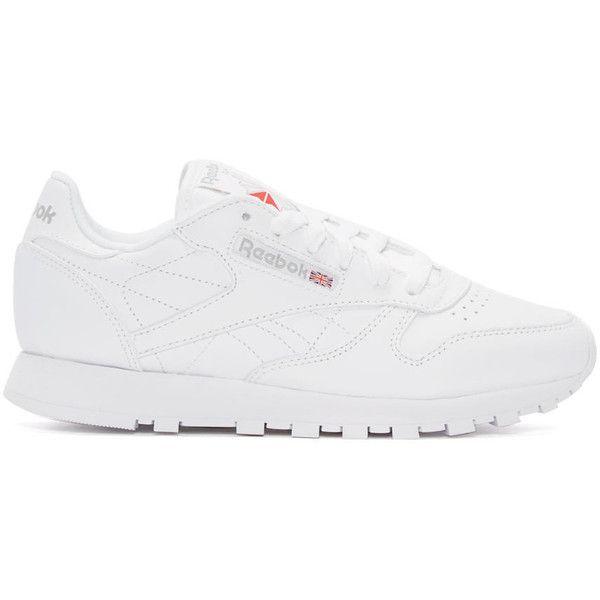 Reebok classics, White leather shoes