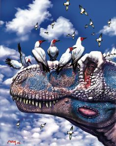 "Tyrannosaurus and ""friends"""